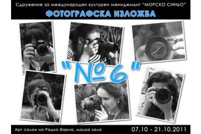 """Фотографска изложба""""№6"""" <br /><tt>Източник: Р. Вълчанова</tt>"""