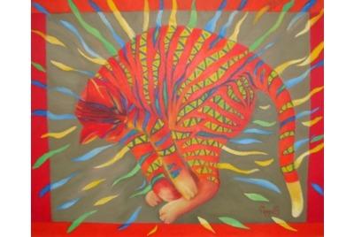 Пепа Костова, Цветен сън <br /><tt>Източник: Галерия 10</tt>