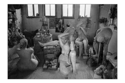 Емил Попов, скулптура <br /><tt>Източник: A&G ART MEETING</tt>