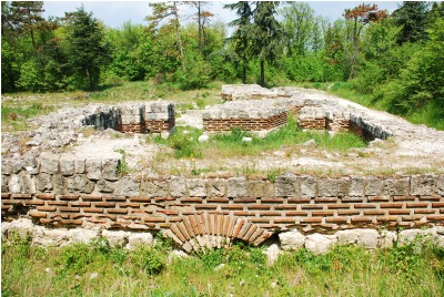 Джанавара - раннохристиянска църква <br /><tt>Източник: РИМ-Варна</tt>