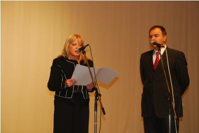 Слово на Д.Петрова - пр-л на Комисията по култура в НС <br /><tt>Източник: Р. Вълчанова</tt>