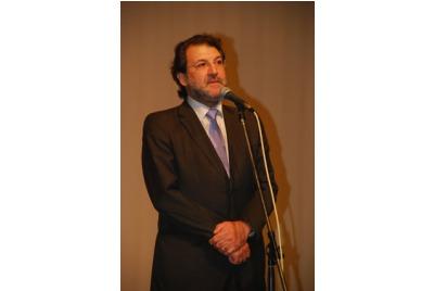 Зам.-министърът на културата Д.Дерелиев откри фестивала <br /><tt>Източник: Р. Вълчанова</tt>