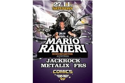 Австрийската техно легенда MARIO RANIERI се завръща във Варна след 3-годишна пауза!  <br /><tt>Източник: клуб Комикс</tt>