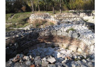 Раннохристиянска църква в местността Джанавара. <br /><tt>Източник: Д. Йорданова</tt>