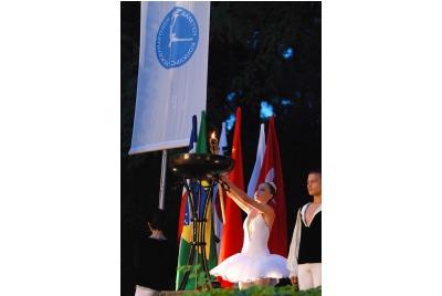 Откриване на ХХІV Международен балетен конкурс <br /><tt>Източник: Nira Communications</tt>